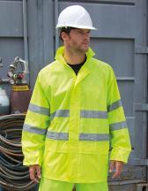 High Vis Waterproof Suit